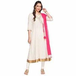 Cotton A-Line Branded Salwar Sets