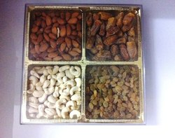 Dry Fruit Box with Four Partition
