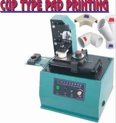 Closed Cup Type Pad printing machine