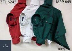 Zaab Full Sleeves ZFL 6242 Kids Printed Shirts