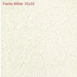 32 x 32 Inch Fianto White Floor Tiles