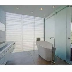Frosted Tempered Shower Glass