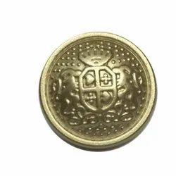 Sherwani Metal Button