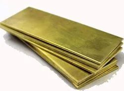 SLM Mill Brass Sheets, For Hardware Fitting, 1.5