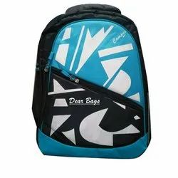 Dear Bag Rubber And Non Woven Printed School Backpack