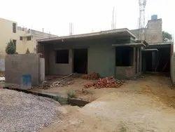 White Industrial Building Construction, In Rewari