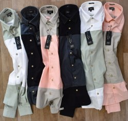 MARK ME Oxford Fabric Designer Shirts, Size: S M L Xl Xxl