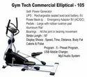 Gym Tech Commercial Elliptical - 105