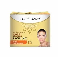 Herbal, gold or diamond Plaste or cream Facial Kit, For Third party or private label