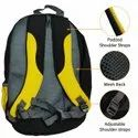 ANSIO Back bag Common - Yellow