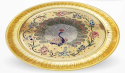 Brass Small Puja Plates