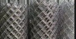 Galvanised Galvanized Iron Chain Link Jali, For Fencing