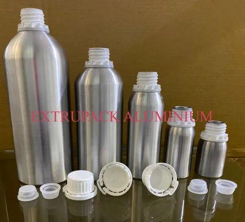 Collar Fitted Aluminum Bottles (Plus 24 Type)