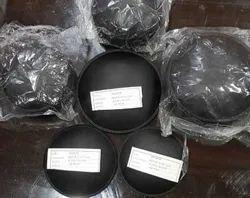 yashica Black Speaker Dust Cap, Plastic, Round