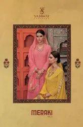 Sajawat Creation Meraki Vol-3 Readymade Salwar Suits Catalog