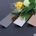 T Profile Stainless Steel Gold Mirror T6,T8,T10,T12