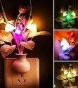 Fancy Colour Changing LED Mushroom Night Light with Sensor-Kunju Lamp