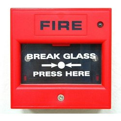 Red Manual Call Point Fire Alarm System