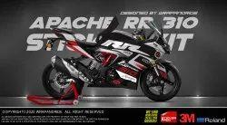 Apache RR 310 Official Design 2 Wrap Decal Sticker
