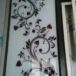 White Decorative Glass