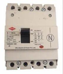 4 HPL 100A Four Pole MCCB