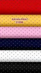 Printed Rayon 58