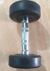 Adjustable Rubber Dumbbell, Weight: 5 kg