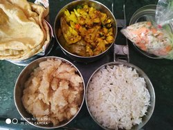 North Indian Tiffin Service, Bhopal, Delivery