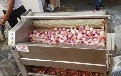 Onion Washing Machine / Onion Washing and Peeling Machine / Onion Peeler