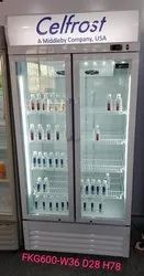 Celfrost FKG 600 DD Double Door Visi Cooler