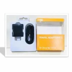 MI Black Android Charger