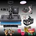 99sublimation Mild Steel 5 In 1 Combo, Cap Printing Machine, For Industrial