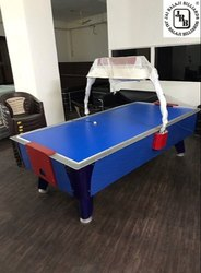 6 Ft Blue Air Hockey Table