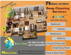 4 Bhk Room Cleaning Services