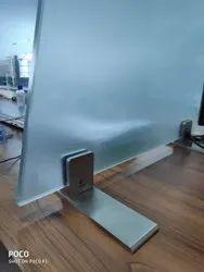 Rectangular Satin Stainless Steel SS Fin Plate, Steel Grade: SS304