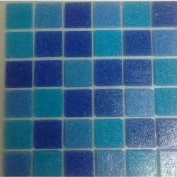 Porcelain Tiles and glass mosaic tiles