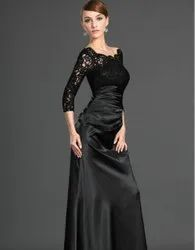 Designer Cotton Evening Dress