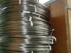 SS 304 Wire 0.5 Mm To 3 Mm In Round Material