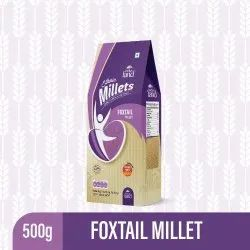 Brown Indus Land Ethnic Foxtail Millet, Packaging Size: 500 Gm, Gluten Free