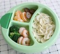 Baby Warm Food Plastic Plate
