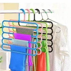 Multipurpose 5 Layer Hanger - Color May be Vary