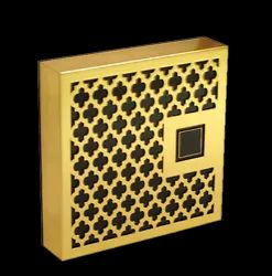 Woodkeiy Wooden Square Jewelry Box, For Jewellery