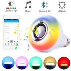 Multicolor 9 W Multicolour Music LED, For Decoration