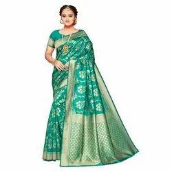 Ladies Fancy Casual Jacquard Saree