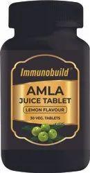 Immunobuild Amla Juice Tabs, Packaging Type: Bottle, Packaging Size: 30 Tablets