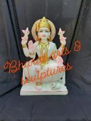 24 Inch Marble Laxmi Statue