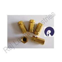 Round Drilling Precision Brass Nuts, For Industrial
