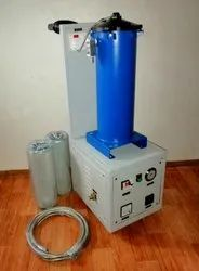 Portable Hydraulic Oil Filtration System