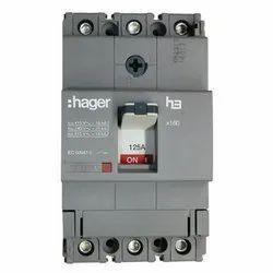 Hager 63A Triple Pole MCCB