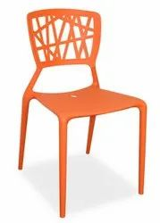 1604 Orange Cafeteria Chair